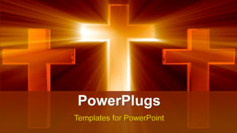 PowerPoint Template - Abstract faith background